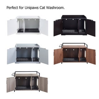 Link to Unipaws Cat Litter Trapping Mat, Litter Box Waterproof Pad Similar Items in Cat Toys & Tunnels