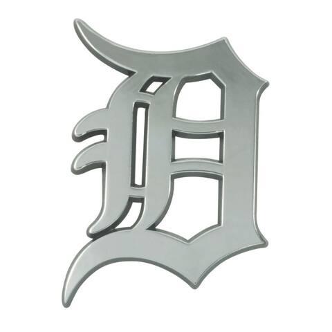 Detroit Tigers Auto Emblem Premium Metal Chrome