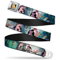 Sleeping Beauty Princess Aurora Full Color Sleeping Beauty Woods Scenes Seatbelt Belt