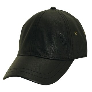 Stetson Men's Antiqued Leather Oily Timber Baseball Cap