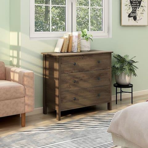 Carbon Loft Mulgrew Distressed Walnut Dresser