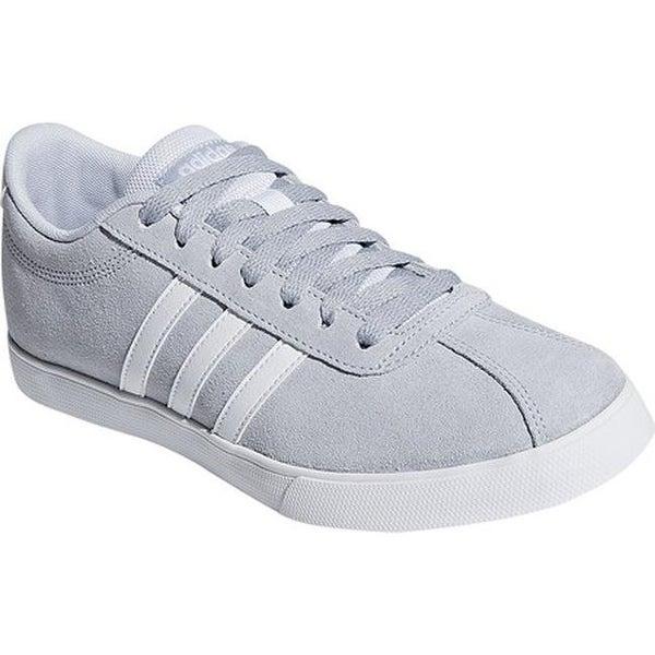 af8df145b5a0dc Shop adidas Women s NEO Courtset Sneaker Aero Blue S18 FTWR White ...