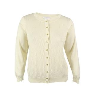 Charter Club Women's Textured Cardigan Sweater