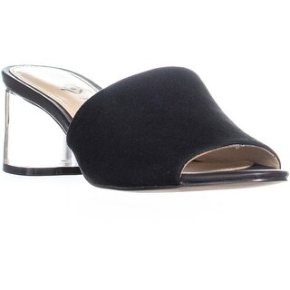 Katy Perry The Kaitlynn Round Toe Slide Sandals, Black