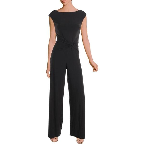 125a59f2b763a Shop Lauren Ralph Lauren Womens Jumpsuit Cocktail Sleeveless - Free ...