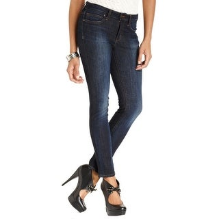 Joe's Jeans Womens Bridget Ankle Jeans Dark Wash Mid-Rise