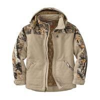 Legendary Whitetails Canvas Cross Trail Realtree Camo Workwear Jacket