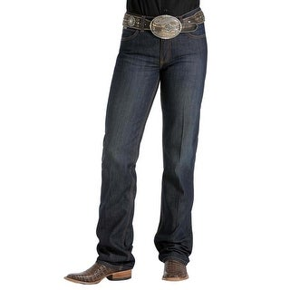 Cinch Western Denim Jeans Womens Jenna Slim Stretch Dark