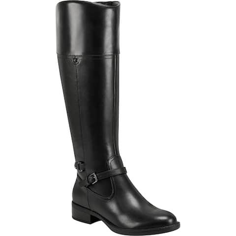 Easy Spirit Womens Leigh Riding Boots Zipper Tall