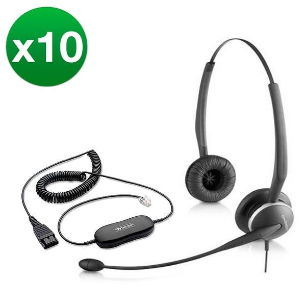 Jabra GN 2125 Duo + GN1200-10 Duo Noise Canceling Headset
