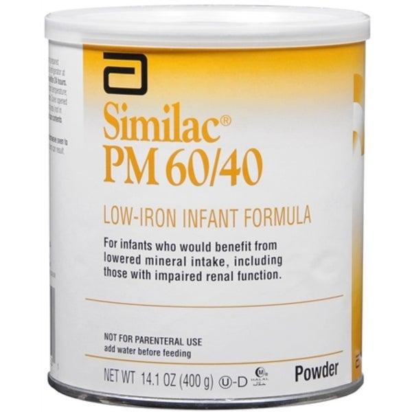 Similac PM 60/40 Low-Iron Infant Formula Powder 14.10 oz