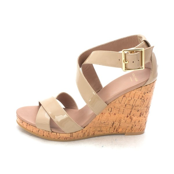 Cole Haan Womens Wendysam Open Toe Casual Platform Sandals - 6