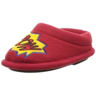 Dearfoams Boys Novelty Clog Slip On Slide Slippers