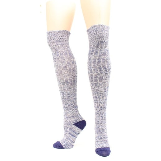 Ariat Socks Womens Above Knee Marbled OSFA Multi Color - Multi-color - One size