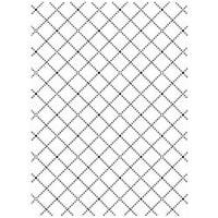 """Wire Fence - Embossing Folder 4.25""""X5.75"""""""