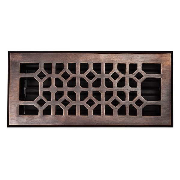 """The Copper Factory CF140 4 x 10"""" Solid Cast Copper Decorative 4""""x10"""". Opens flyout."""