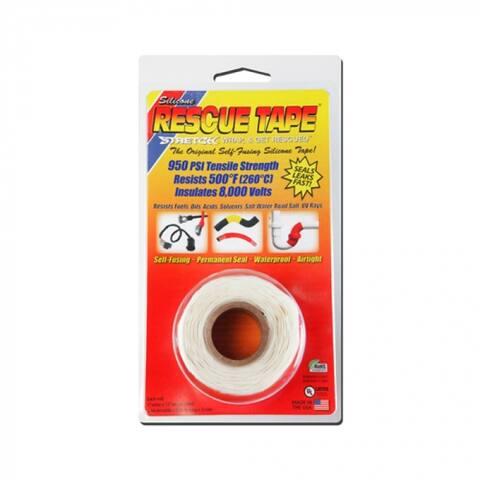"Rescue Tape RT1000201203USC Self-Fusing Silicone Tape, 1"" x 12', White"