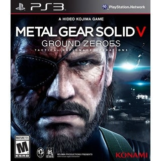 Metal Gear Solid 5 Ground Zeroes - PlayStation 3