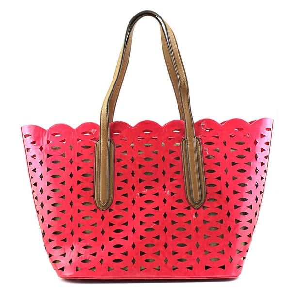 SR Squared by Sondra Roberts AC23875 Synthetic Tote - Pink