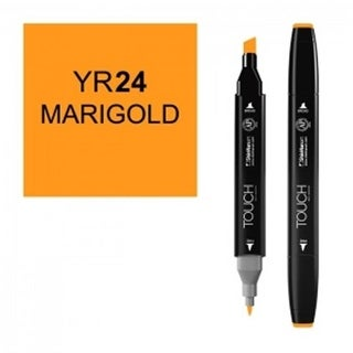 ShinHan Art 1110024-YR24 Twin Marigold Marker, Black