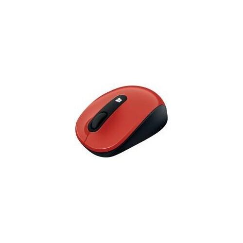 Microsoft 43U00023R Microsoft Sculpt Mobile Mouse - Flame Red (43U-00023)