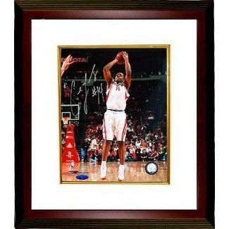 381f3340af38 Carl Landry signed Houston Rockets 8x10 Photo Custom Framed TriStar Hologram