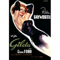 Gilda - Rita Hayworth (Capitani) Vintage Ad (Art Print - Multiple Sizes)