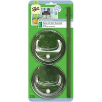 Ball(R) Wide Mouth Sip & Straw Lids-