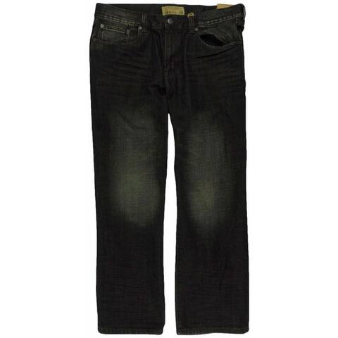 Ecko Unltd. Mens Brief Encounter Washed Denim Relaxed Jeans