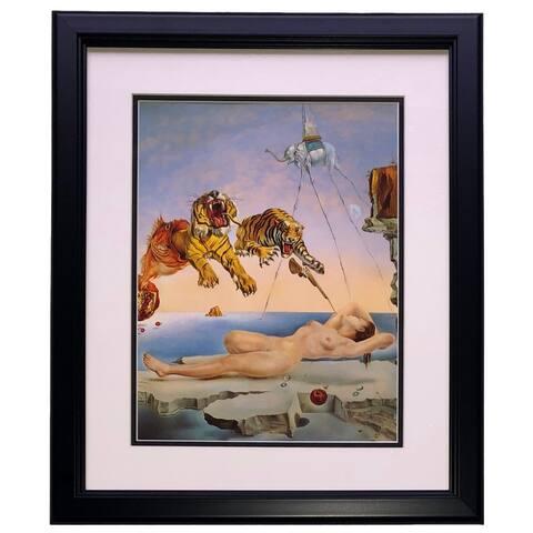 Salvador Dali Dream Caused Framed 14x17 High Quality Print Photo
