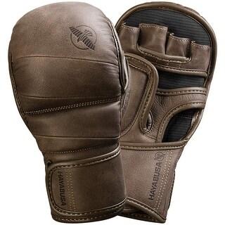Hayabusa T3 Kanpeki 7 oz. Hybrid MMA Gloves - Brown