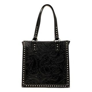 Blazin Roxx Western Handbag Womens Nora Tote Floral Embossed N75700 - 12 1/2 x 4 x 12 1/2