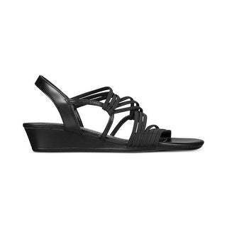 Impo Womens Rocio Open Toe Casual Wedged Sandals