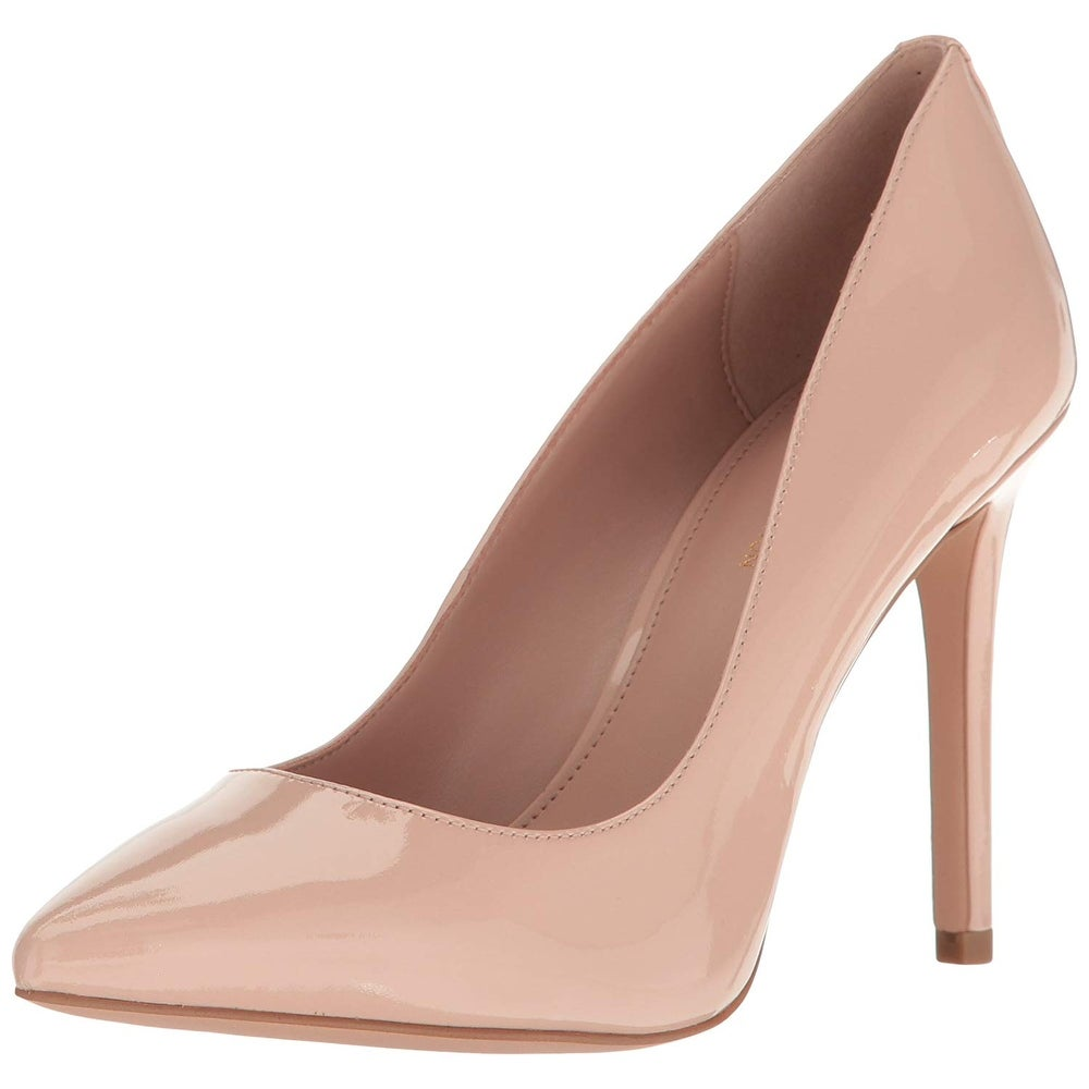 B,M BHFO 5481 BCBGeneration Womens Heidi Brown Dress Pumps Shoes 9.5 Medium
