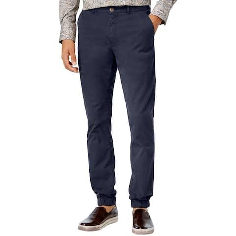 Tallia Mens Vicuna Casual Jogger Pants, blue, 36W x 32L - 36W x 32L