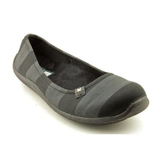 Dr. Scholl's Joliet Women Round Toe Canvas Black Flats
