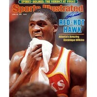 Dominique Wilkins Red Hot Hawk Sports Illustrated Cover 16x20