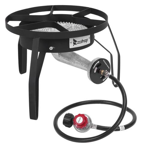 Outdoor Furnace Cooking Stove 200,000 BTU Output High Pressure Gas Cooker