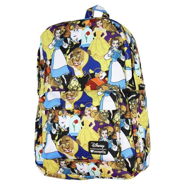 399c2a973dd Shop Loungefly x Beauty and the Beast Character Print Backpack ...