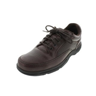 Rockport Mens Eureka Leather Casual Walking Shoes