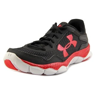 Under Armour UA BPS Engage II BL AL Youth Round Toe Synthetic Black Sneakers