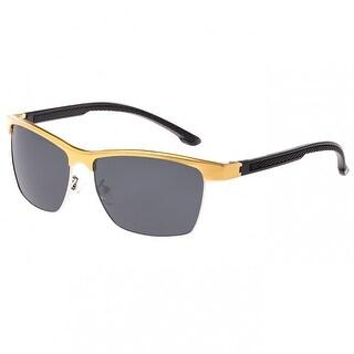 Breed Bode Men's Aluminium Sunglasses - 100% UVA/UVB Prorection - Polarized Lens - Multi