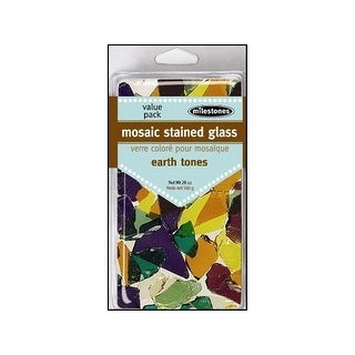 Milestones Deco VP Mosaic Stained Glass Earth