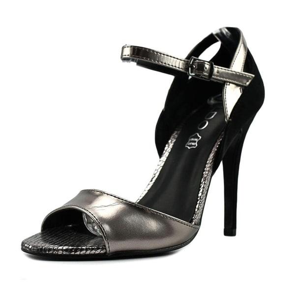 Aldo Litta Women Silver/Black Pumps