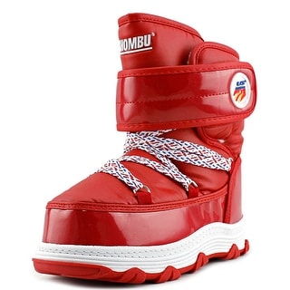 Kamik Lil Ski Team Round Toe Canvas Snow Boot