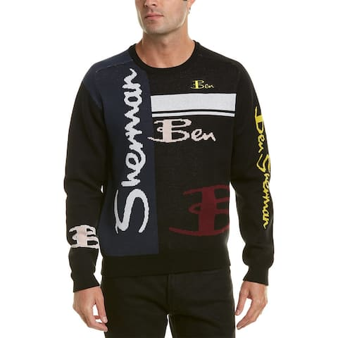 Ben Sherman Multi-Logo Crewneck Sweater