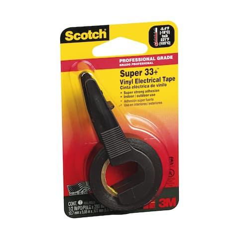 """Scotch 194P Super 33+ Vinyl Electrical Tape, 1/2"""" x 200"""""""