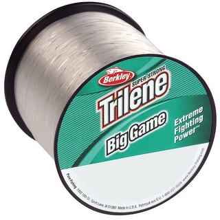 Berkley Trilene Big Game 25 lb Test Fishing Line - 595 yds - Clear