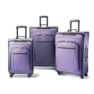 American Tourister AT Pop Plus 3 Piece Set, Purple