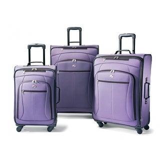 American Tourister AT Pop Plus 3 Piece Set, Purple